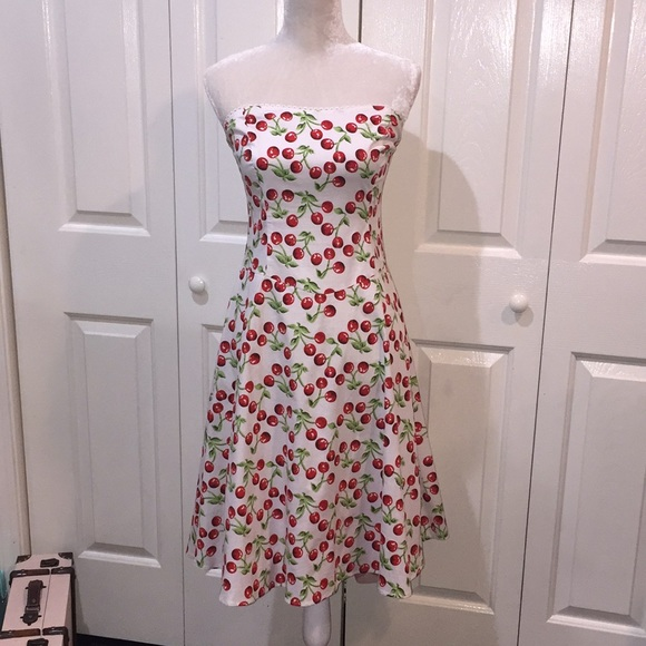 0e856a38013f Ruby Rox Dresses | Nwot Rockabilly Pinup Cherry Dress Sz 11 | Poshmark
